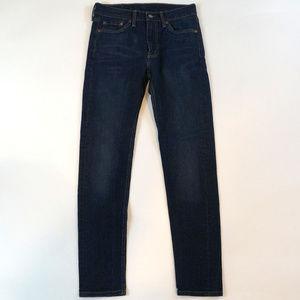 Levis 510 Skinny Fit 29 X 32 Dark Wash Jeans